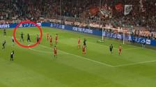 De zurda y adentro: el golazo de Marcelo ante Bayern Munich por la Champions