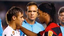 El día que Ronaldinho superó a Neymar en un partidazo en el Brasileirao