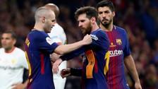 ¿Por qué Messi y Suárez no estuvieron en la despedida de Iniesta?