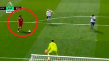 ¿Mohamed, eres tú? Salah perdió un increíble gol en la Premier