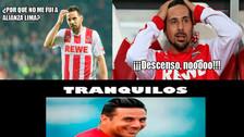 Claudio Pizarro es víctima de los memes tras el descenso del Colonia