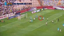 Cazulo le dio el empate a Cristal con gol de cabeza en el último minuto