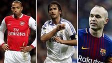 Con Iniesta: los 10 jugadores históricos que debieron ganar un Balón de Oro