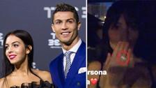 Cristiano Ronaldo le regaló a su novia un anillo de 700 mil euros