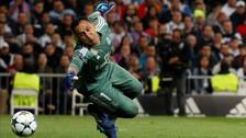 Keylor Navas y su espectacular atajada ante Bayern Munich por la Champions