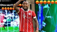 Arturo Vidal estalló por el penal que no le cobraron al Bayern Munich