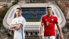 Estos son los once titulares de Real Madrid y Bayern Munich por la Champions
