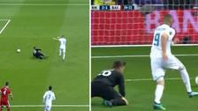 ¡Para qué te traje! El increíble error de Ulreich para el gol de Benzema
