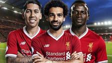 Mané, Salah y Firmino, el mejor tridente en la historia de la Champions League