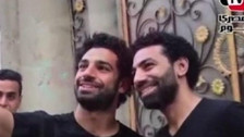 El 'gemelo' de Mohamed Salah que causó sensación en Egipto