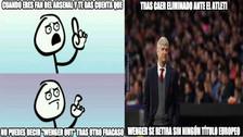 Arsenal es víctima de memes tras perder contra Atlético de Madrid