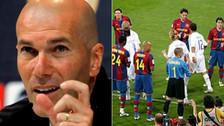 Zidane aclaró que Real Madrid no le hará el pasillo a Barcelona