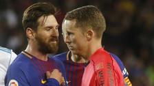 Irreconocible: Lionel Messi se enfrentó al árbitro y lo amenazó