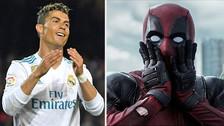 El actor de Deadpool demostró su admiración por Cristiano Ronaldo