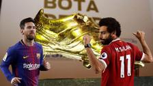 Messi y los 10 máximos goleadores que luchan por ganar la Bota de Oro