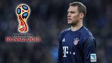 Manuel Neuer sobre su presencia en el Mundial: