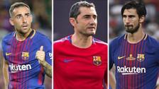 Los 6 jugadores del Barcelona que no seguirán la próxima temporada
