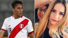 Cristian Benavente presentó por primera vez en TV a su novia belga