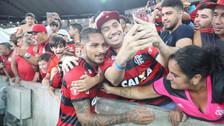 A los hinchas de Flamengo: la dedicatoria de Guerrero en Instagram