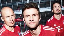 ¡Hermosa! Bayern Munich presentó la camiseta que usará en la próxima temporada