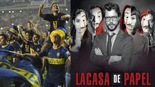 Jugadores de Boca Juniors celebraron su título al ritmo de 'La Casa de Papel'