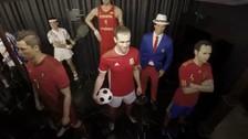 Gareth Bale simuló ser una estatua y asustó a los visitantes del Museo de Cera