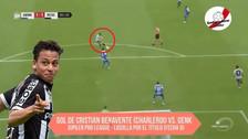 Cristian Benavente anotó un golazo de zurda para el Sporting Charleroi