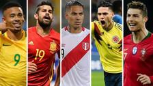 Puro gol: los delanteros de cada selección que estará en Rusia 2018