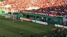 Video | Hinchada del Flamengo ovacionó a Guerrero tras volver a anotar