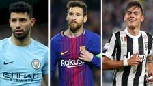 Puras estrellas: el mejor once de las grandes ligas europeas