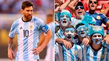 Messi se enfureció: