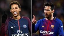 Ni lo imagina: Messi reveló cuál sería su reacción si Neymar va al Real Madrid