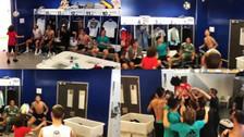El reto malabarista del hijo de Marcelo con los jugadores del Real Madrid