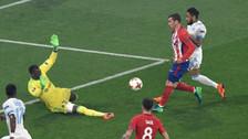 Se la picó al arquero: el golazo de Griezmann en la final de la Europa League