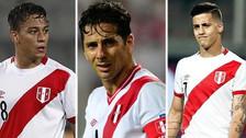 ¡Atención! Estos jugadores peruanos quedaron fuera del Mundial Rusia 2018