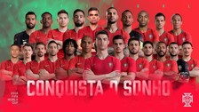 Con Cristiano a la cabeza: Portugal presentó su lista para Rusia 2018