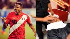 Jefferson Farfán se cambió de look antes de integrarse a la Selección Peruana