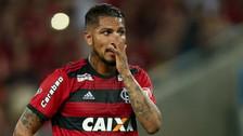 Flamengo suspendió el contrato de Paolo Guerrero por segunda vez