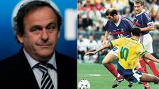 Platini reveló manipulación para que Francia y Brasil jugaran la final de 1998