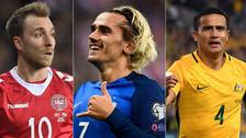 Selección Peruana: ¿Qué lugar ocupan sus rivales previo al Mundial Rusia 2018?