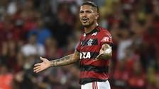 Flamengo evalúa demandar a la FPF por suspensión de Paolo Guerrero