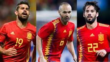 ¡Equipazo! España presentó sus 23 convocados para el Mundial Rusia 2018
