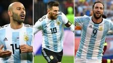 Sin Icardi: Argentina presentó a los 23 jugadores que estarán en el Rusia 2018