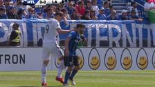 En la MLS: Ibrahimovic vio la roja por este manazo a jugador