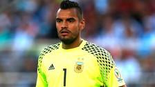 Sergio Romero se lesionó y no jugará el Mundial de Rusia 2018