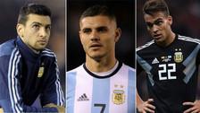 Argentina: el increíble XI con los descartes para el Mundial Rusia 2018