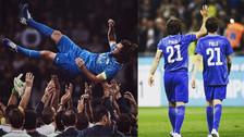 Las mejores fotos del partido de despedida de Andrea Pirlo