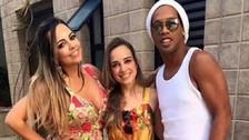 Ronaldinho Gaúcho se casará con dos mujeres, según prensa brasileña