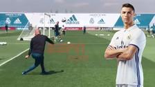 El golazo de Cristiano tras pase Zidane previo a la final de la Champions