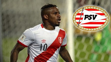 Jefferson Farfán en el 'once ideal en Rusia 2018' del PSV